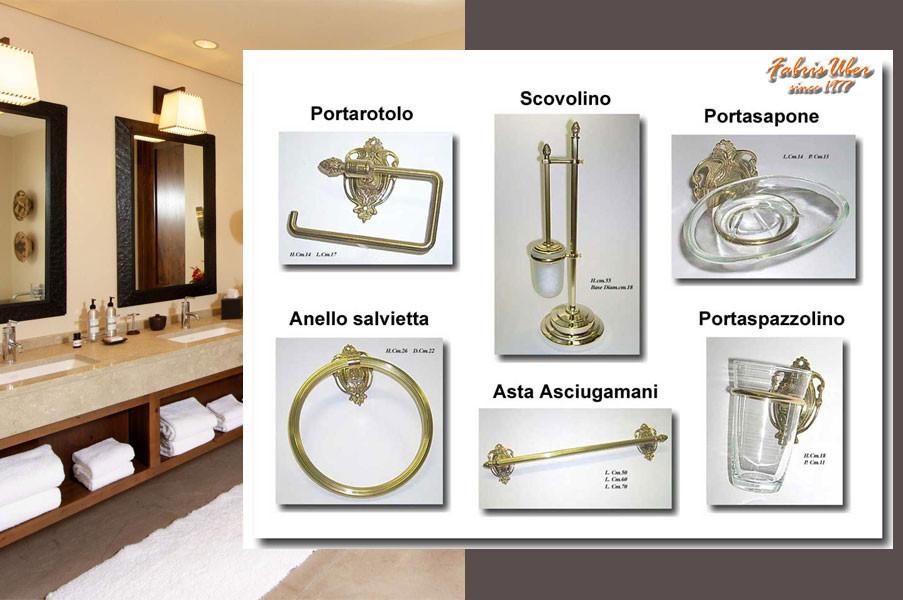 Accessori Bagno Ottone Anticato.Accessori Arredobagno Bathroom Accessories
