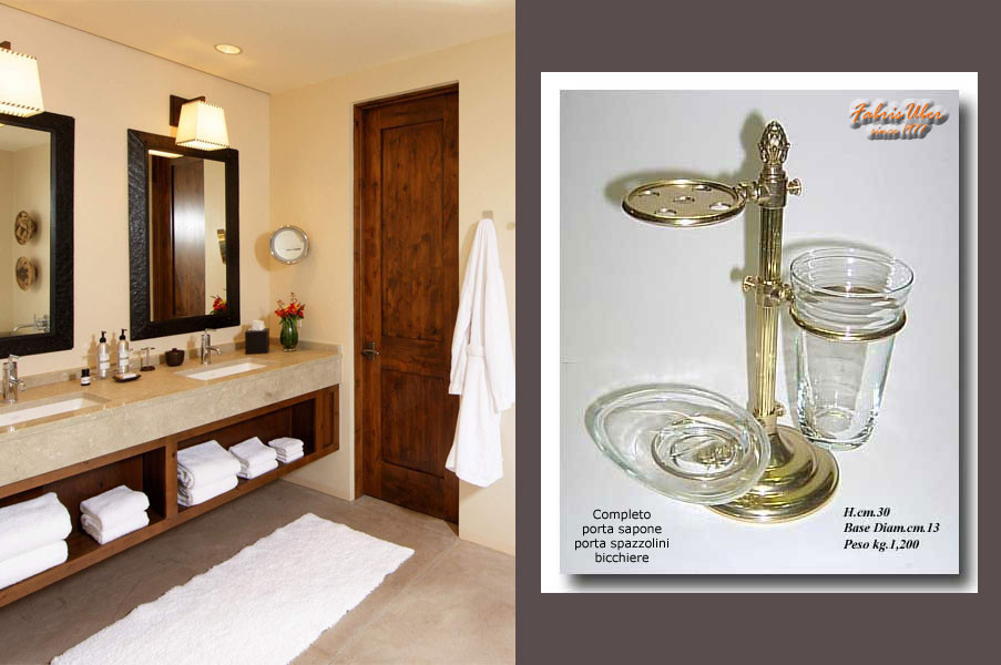 Serie Completa Accessori Bagno.Accessori Arredobagno Bathroom Accessories