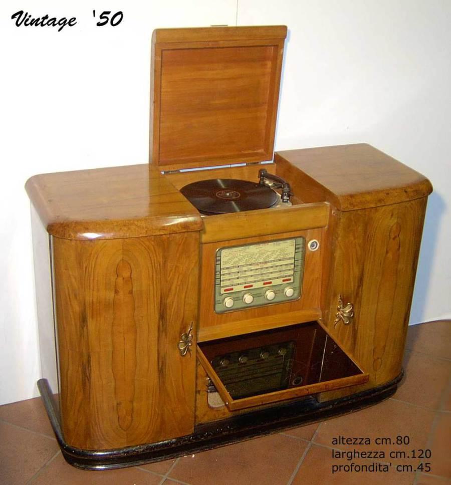 Oggetti Vintage Mobili Radio Giradischi Comodini Specchiere
